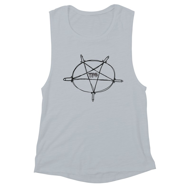 TFG Penis Pentagram Women's Muscle Tank by TotallyFuckingGay's Artist Shop
