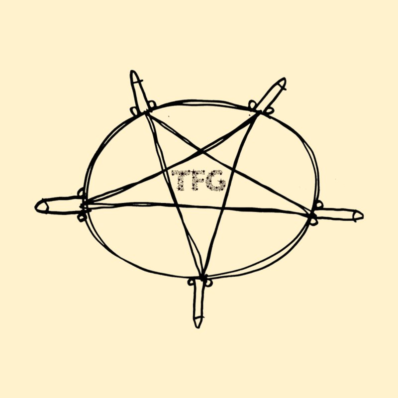 TFG Penis Pentagram 2 Men's Sweatshirt by TotallyFuckingGay's Artist Shop