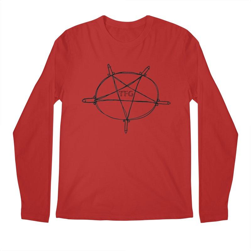 TFG Penis Pentagram 2 Men's Longsleeve T-Shirt by TotallyFuckingGay's Artist Shop