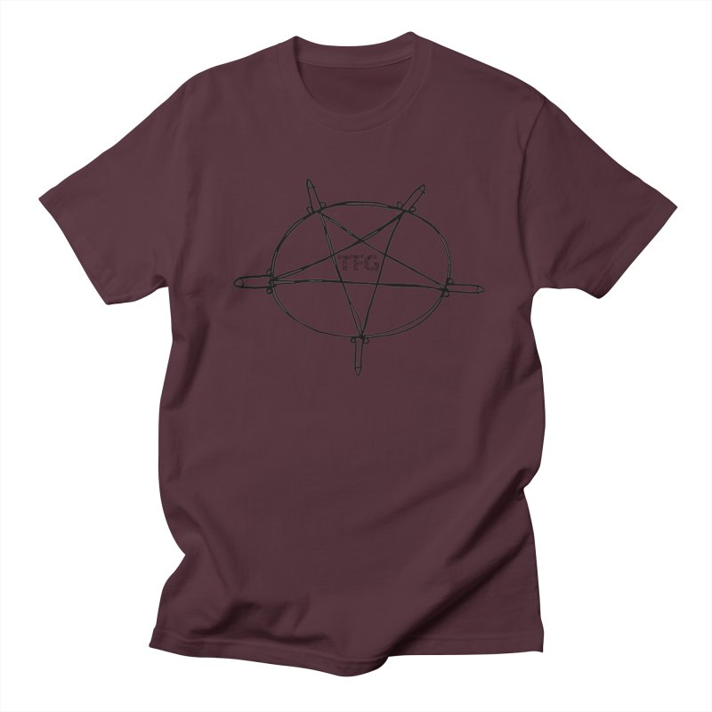 TFG Penis Pentagram 2 Men's Regular T-Shirt by TotallyFuckingGay's Artist Shop