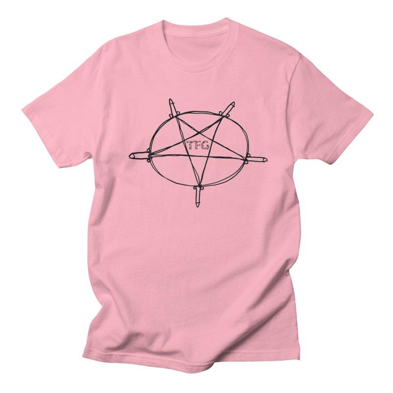 TFG Penis Pentagram 2 Men's Regular T-Shirt by TotallyFuckingGay's Artist Shop
