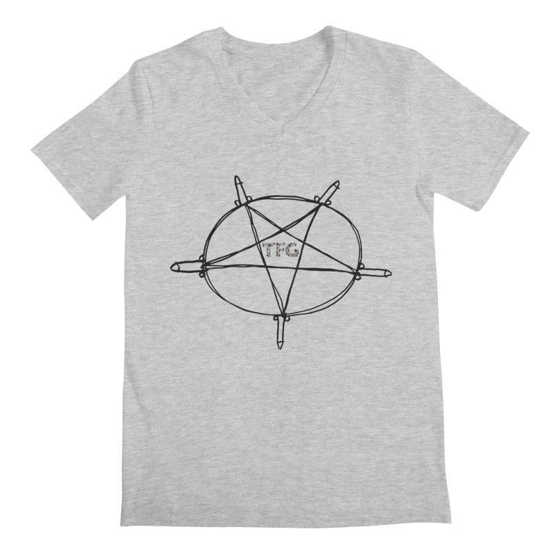 TFG Penis Pentagram 2 Men's V-Neck by TotallyFuckingGay's Artist Shop