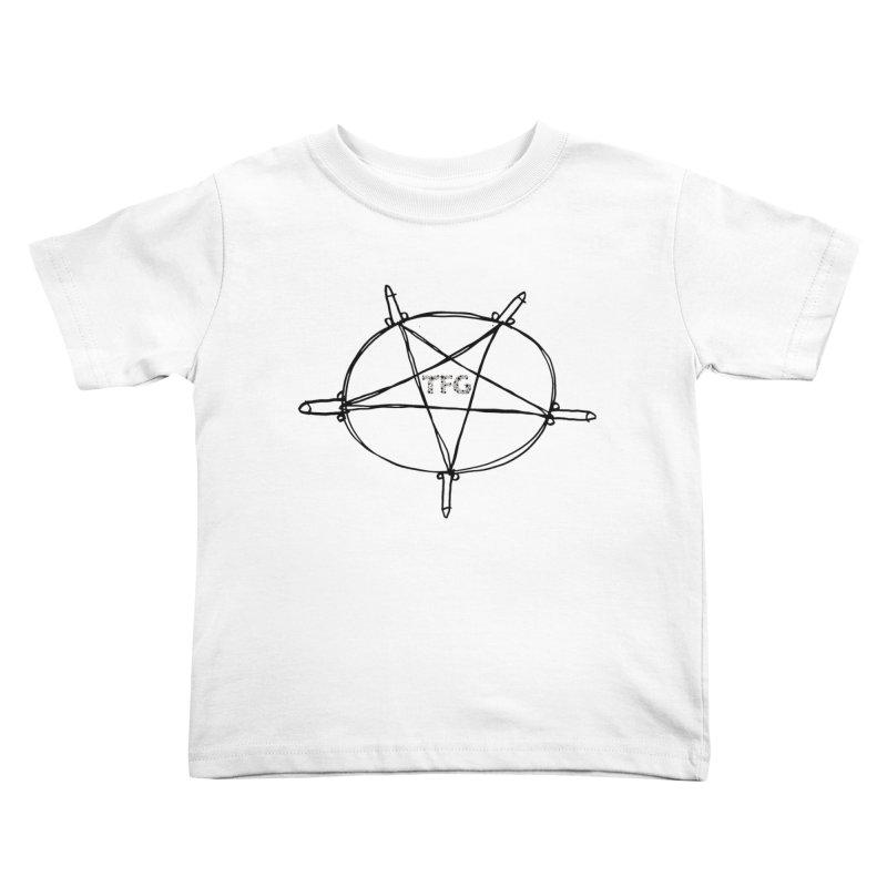 TFG Penis Pentagram 2 Kids Toddler T-Shirt by TotallyFuckingGay's Artist Shop