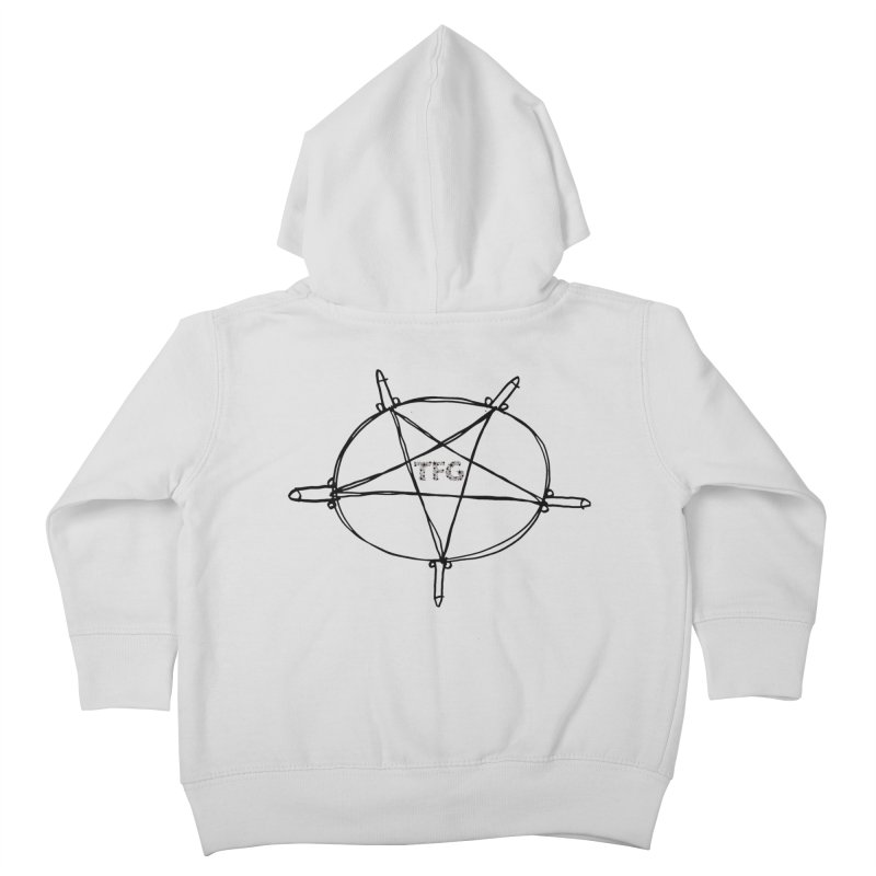 TFG Penis Pentagram 2 Kids Toddler Zip-Up Hoody by TotallyFuckingGay's Artist Shop