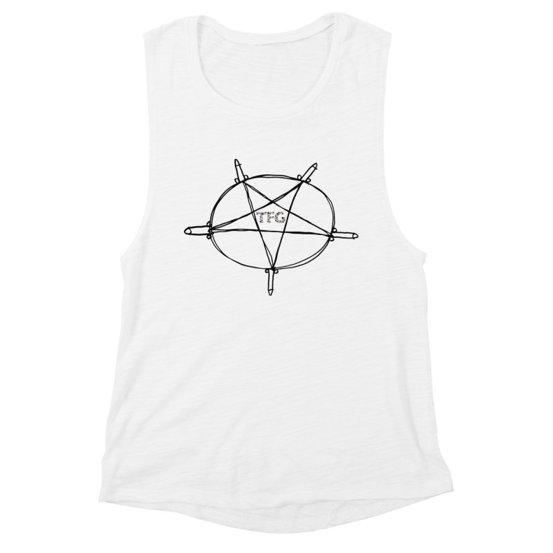 TFG Penis Pentagram 2 Women's Muscle Tank by TotallyFuckingGay's Artist Shop