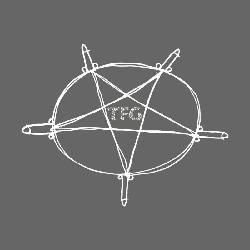 TFG Penis Pentagram White 2 None  by TotallyFuckingGay's Artist Shop