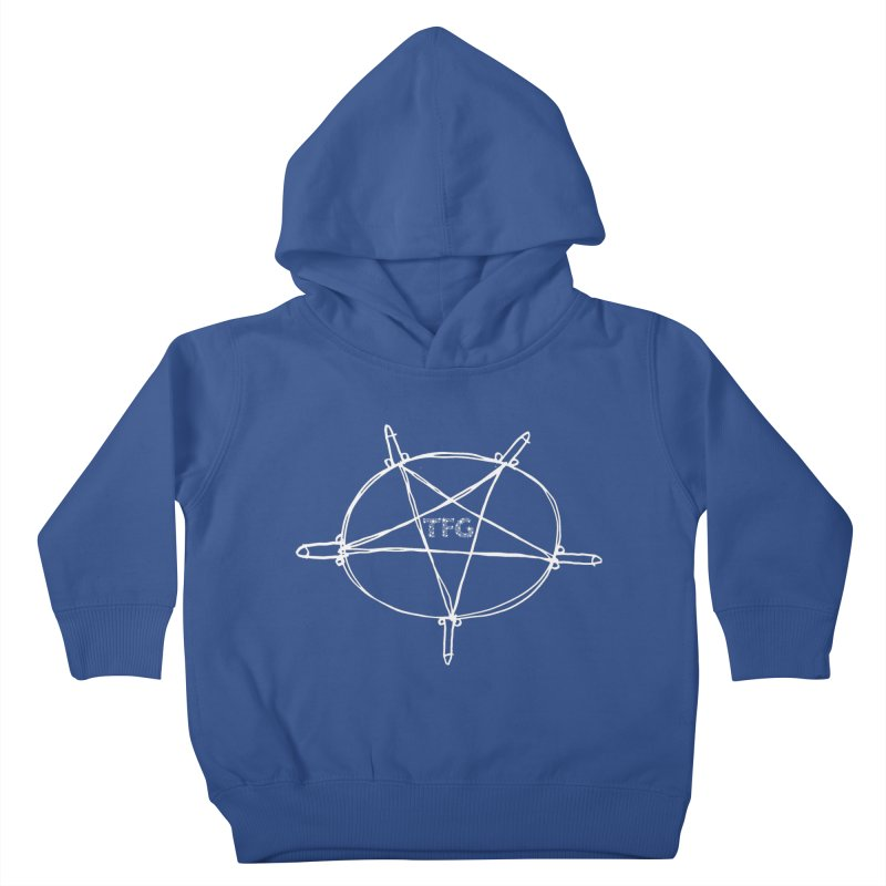 TFG Penis Pentagram White 2 Kids Toddler Pullover Hoody by TotallyFuckingGay's Artist Shop