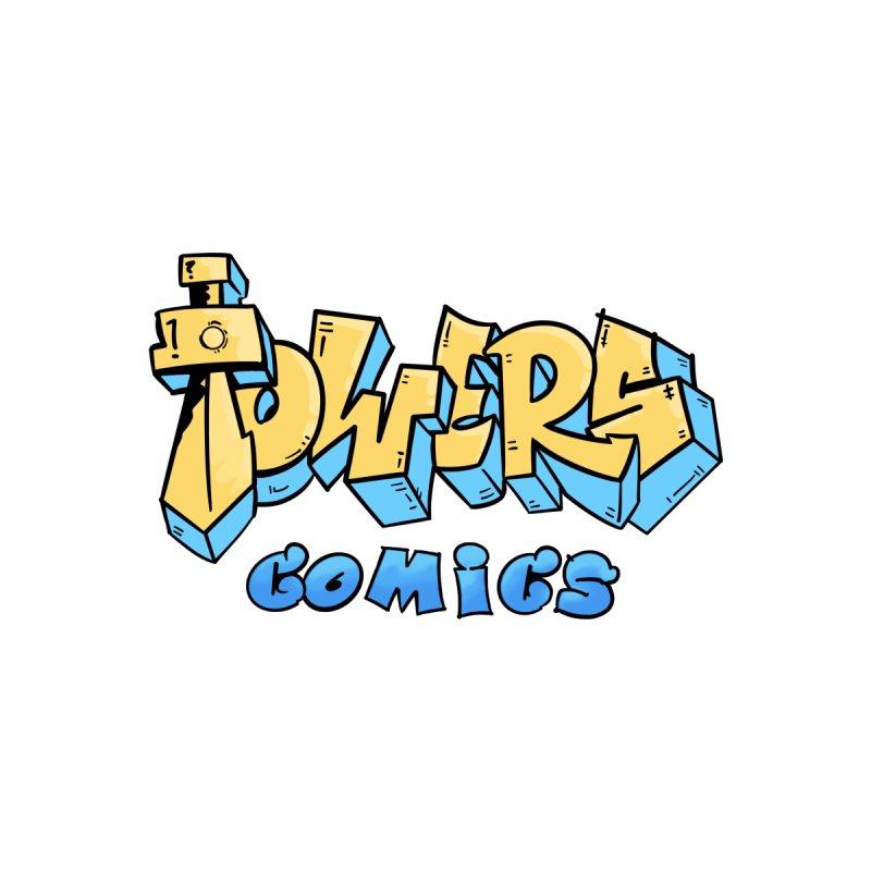 Towers Comics - Graffiti Logo Men's T-Shirt by TowersComics's Artist Shop