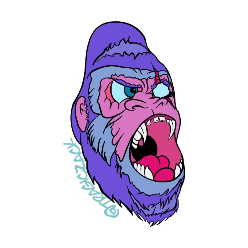 Purple Primate by Tragiczackart's Artist Shop