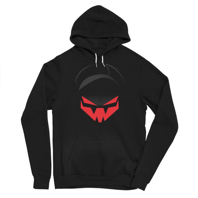 The Grinning Visage of Viral Men's Sponge Fleece Pullover Hoody by The Transypoo Tee Shirt Shop!