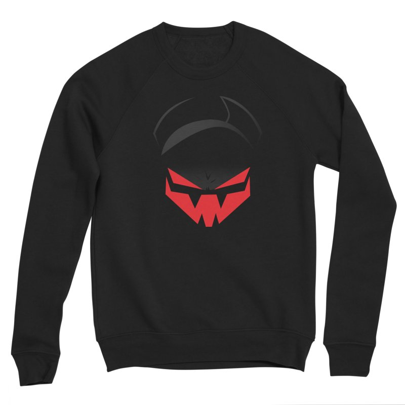 The Grinning Visage of Viral Men's Sponge Fleece Sweatshirt by The Transypoo Tee Shirt Shop!