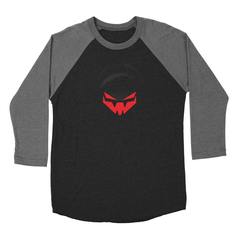 The Grinning Visage of Viral Women's Baseball Triblend Longsleeve T-Shirt by The Transypoo Tee Shirt Shop!