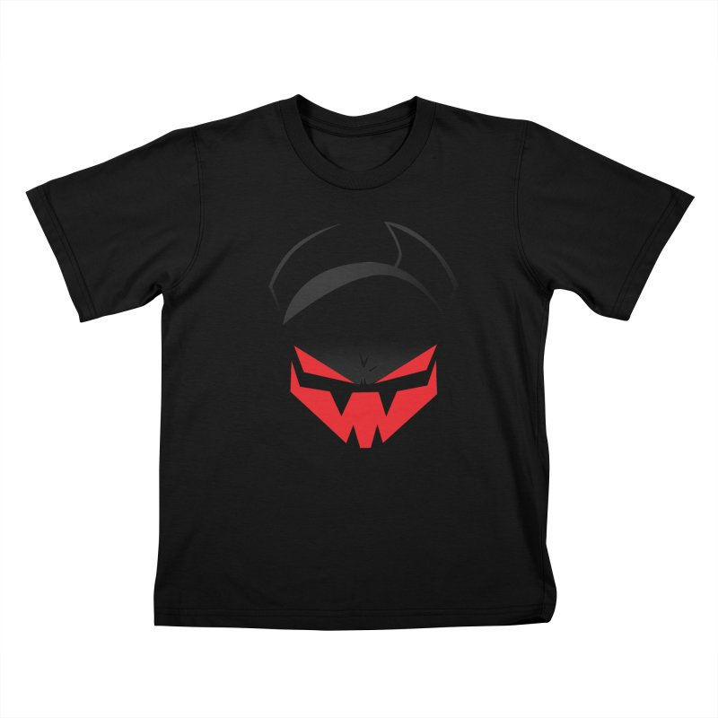 The Grinning Visage of Viral Kids T-Shirt by The Transypoo Tee Shirt Shop!