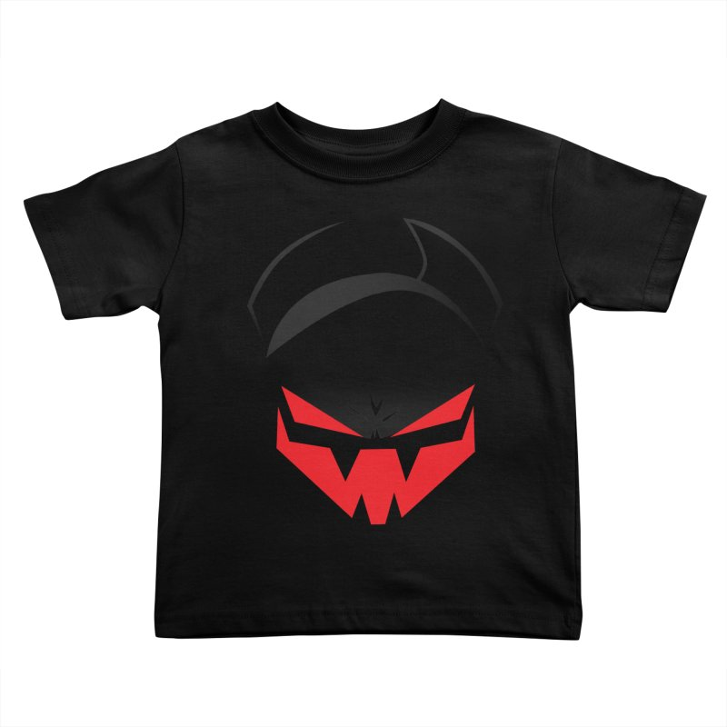 The Grinning Visage of Viral Kids Toddler T-Shirt by The Transypoo Tee Shirt Shop!