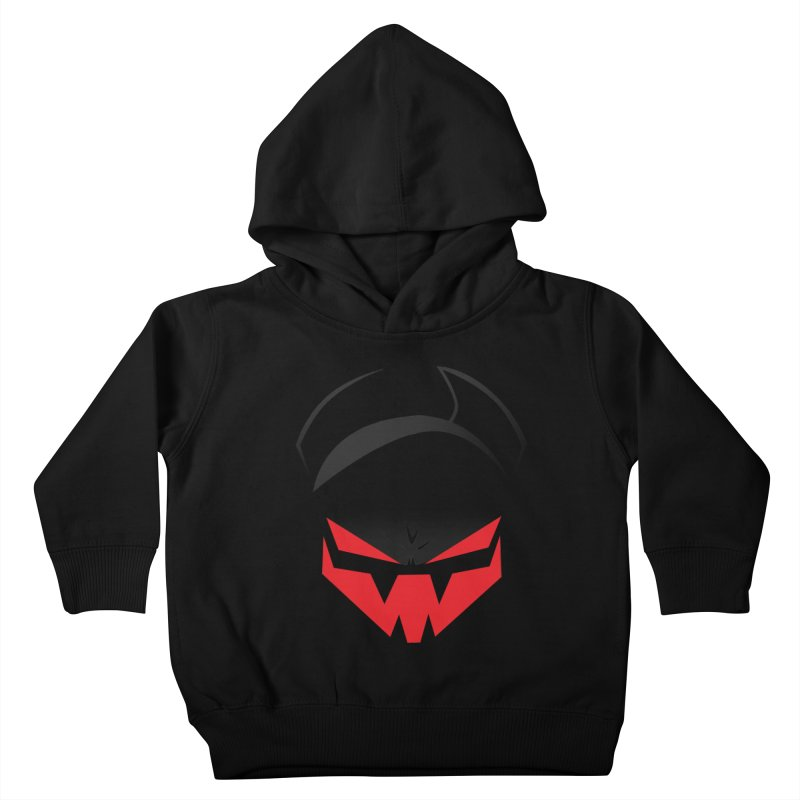 The Grinning Visage of Viral Kids Toddler Pullover Hoody by The Transypoo Tee Shirt Shop!