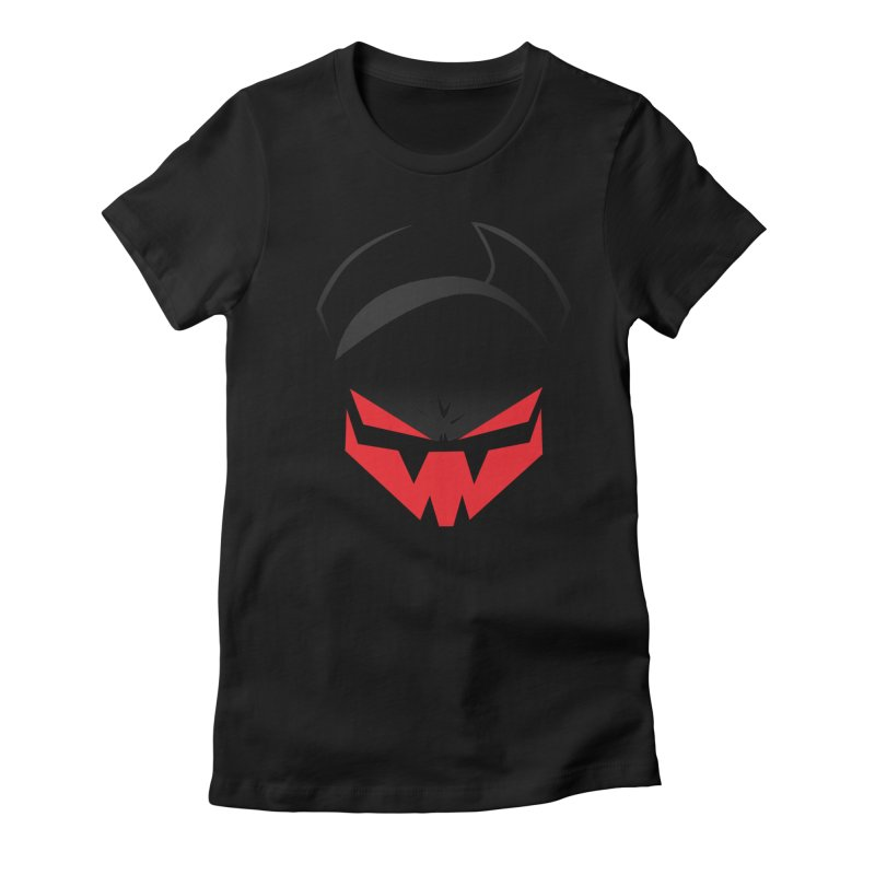 The Grinning Visage of Viral Women's Fitted T-Shirt by The Transypoo Tee Shirt Shop!