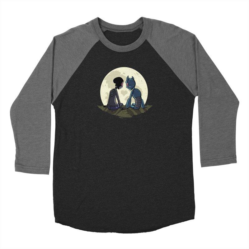 Transypoo + Skel Men's Baseball Triblend Longsleeve T-Shirt by The Transypoo Tee Shirt Shop!