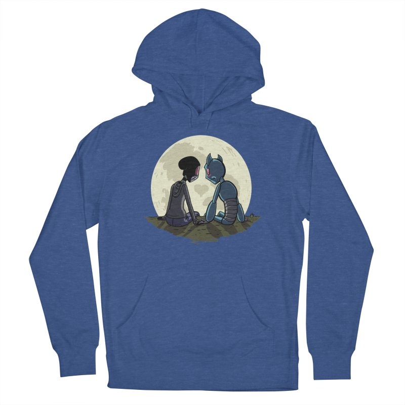 Transypoo + Skel Men's French Terry Pullover Hoody by The Transypoo Tee Shirt Shop!