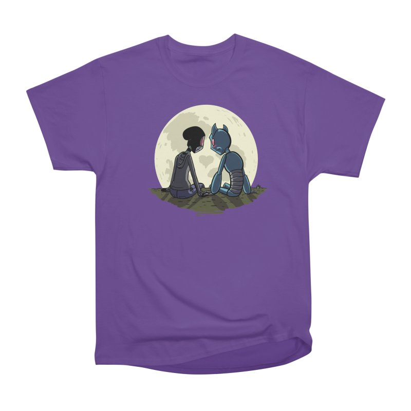 Transypoo + Skel Men's Heavyweight T-Shirt by The Transypoo Tee Shirt Shop!