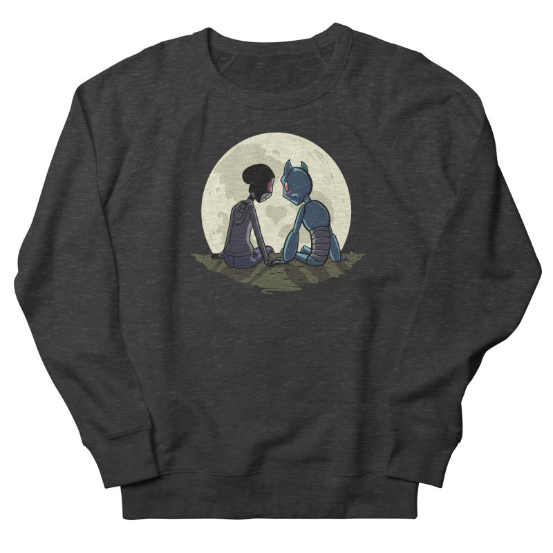 Transypoo + Skel Men's French Terry Sweatshirt by The Transypoo Tee Shirt Shop!