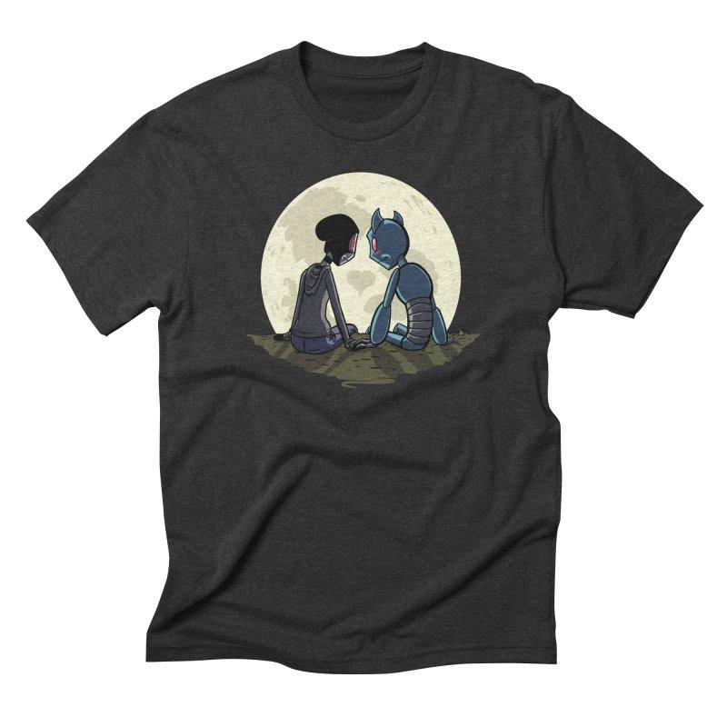 Transypoo + Skel Men's Triblend T-Shirt by The Transypoo Tee Shirt Shop!