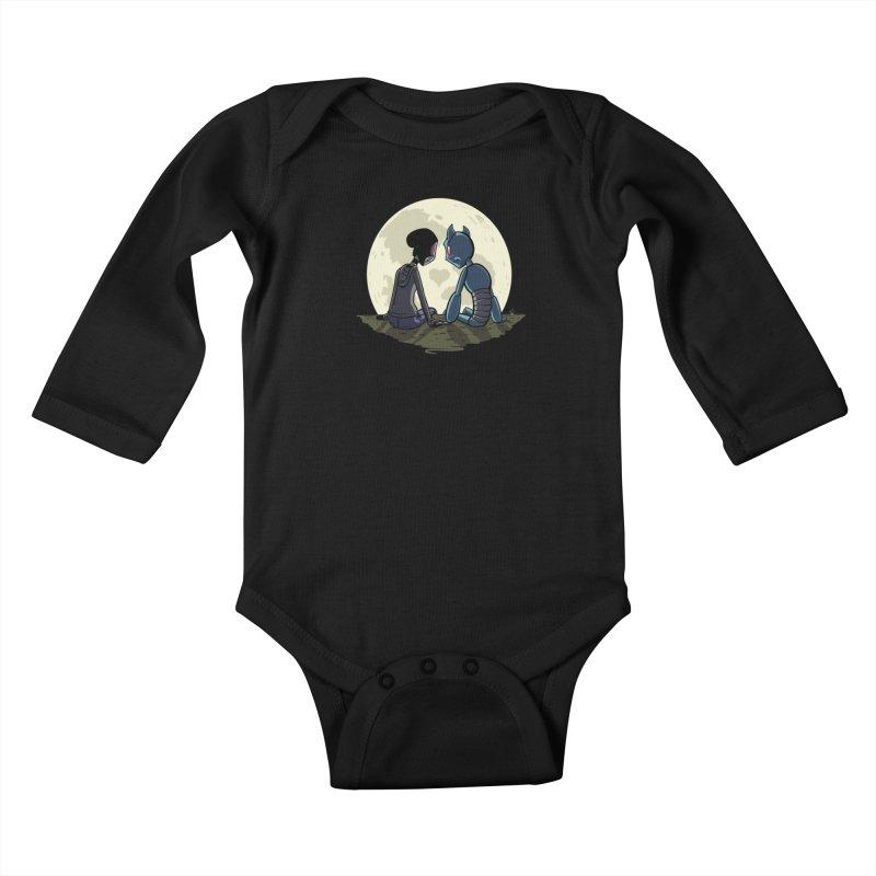 Transypoo + Skel Kids Baby Longsleeve Bodysuit by The Transypoo Tee Shirt Shop!