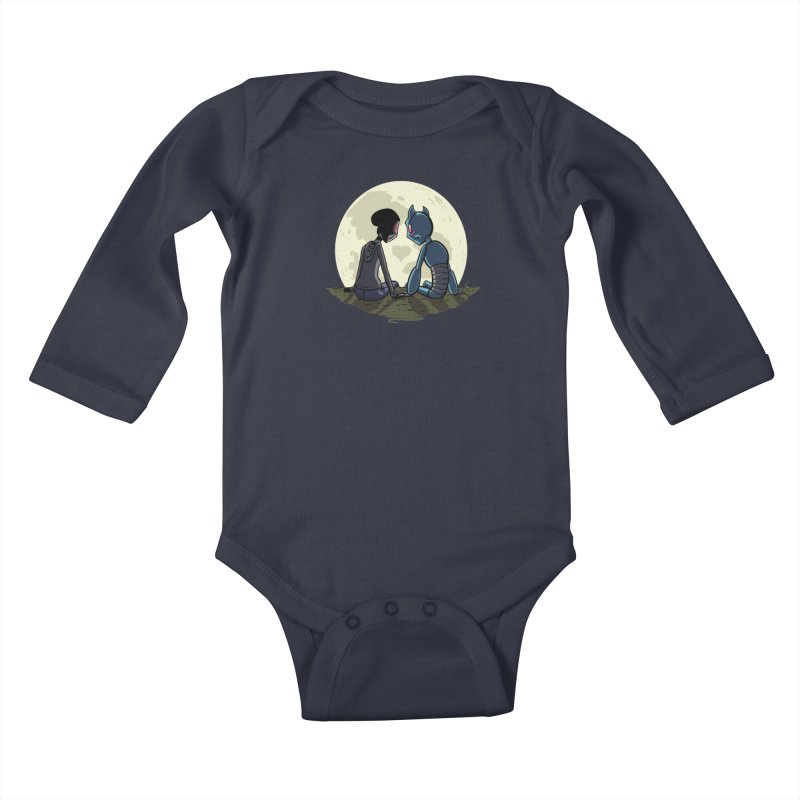 Transypoo + Skel Kids Baby Longsleeve Bodysuit by The Transypoo Tee Shirt Shop!