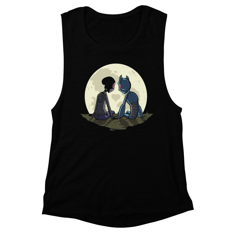 Transypoo + Skel Women's Muscle Tank by The Transypoo Tee Shirt Shop!