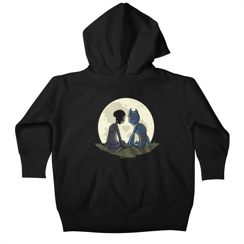 Transypoo + Skel Kids Baby Zip-Up Hoody by The Transypoo Tee Shirt Shop!