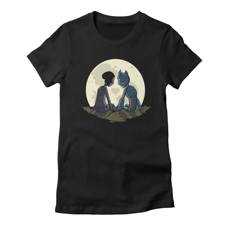 Transypoo + Skel Women's Fitted T-Shirt by The Transypoo Tee Shirt Shop!