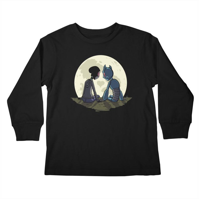 Transypoo + Skel Kids Longsleeve T-Shirt by The Transypoo Tee Shirt Shop!