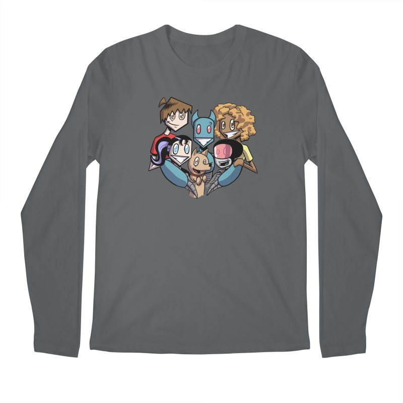 10th Anniversary! Men's Longsleeve T-Shirt by The Transypoo Tee Shirt Shop!