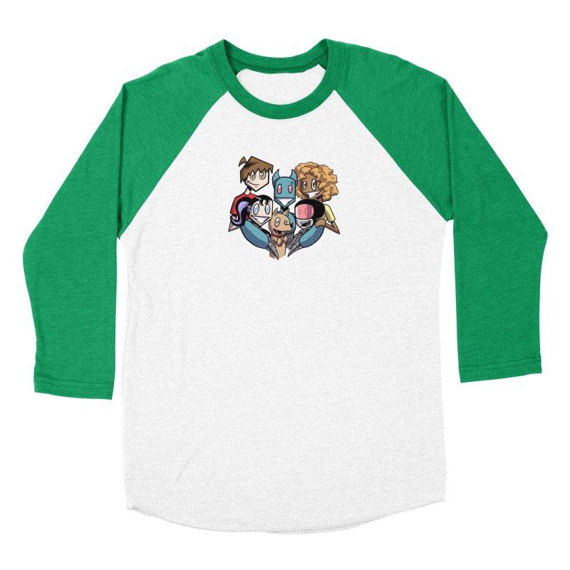 10th Anniversary! Women's Baseball Triblend Longsleeve T-Shirt by The Transypoo Tee Shirt Shop!