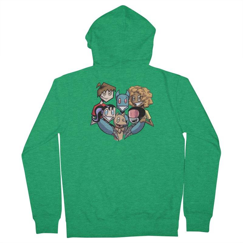 10th Anniversary! Women's Zip-Up Hoody by The Transypoo Tee Shirt Shop!