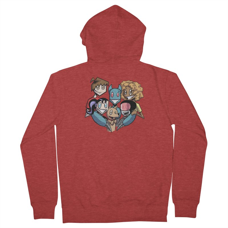 10th Anniversary! Women's French Terry Zip-Up Hoody by The Transypoo Tee Shirt Shop!
