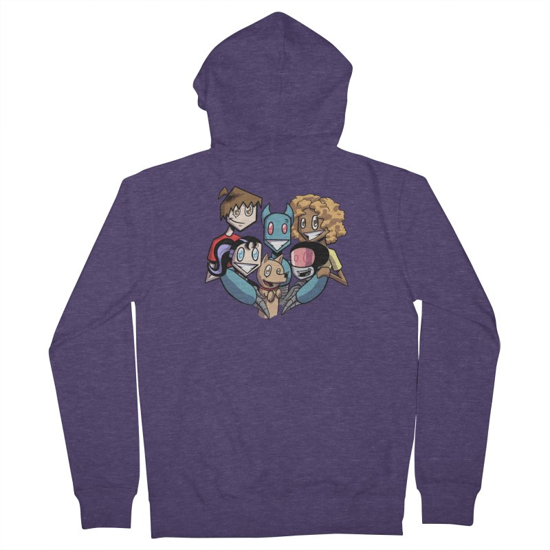 10th Anniversary! Men's French Terry Zip-Up Hoody by The Transypoo Tee Shirt Shop!