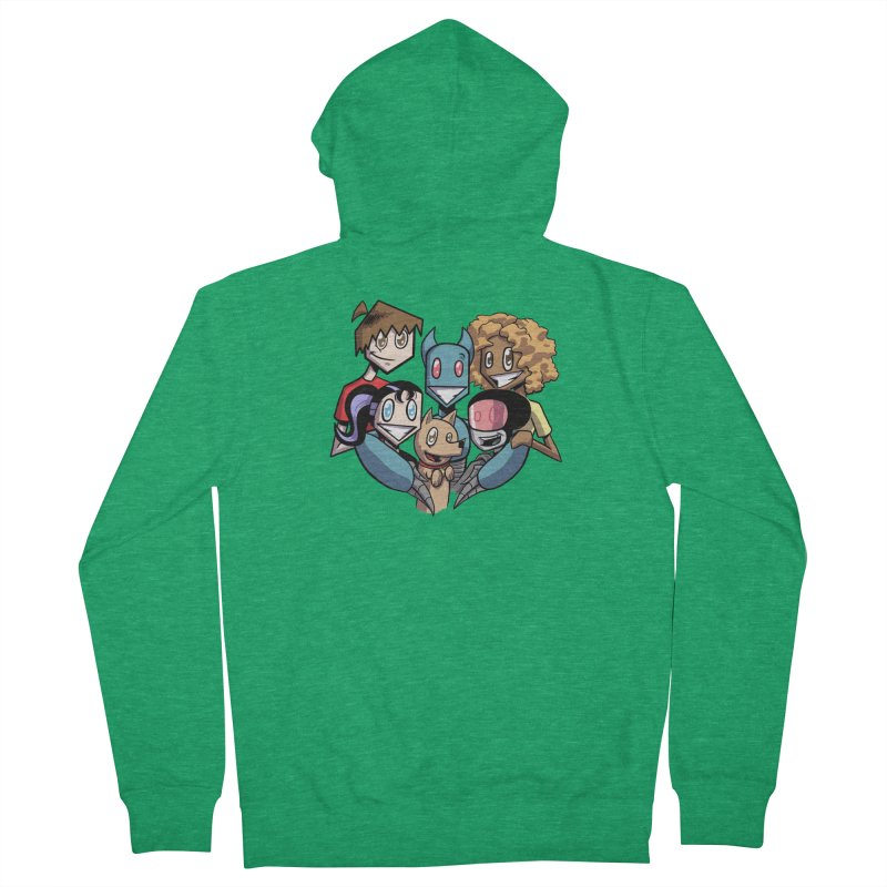 10th Anniversary! Men's Zip-Up Hoody by The Transypoo Tee Shirt Shop!