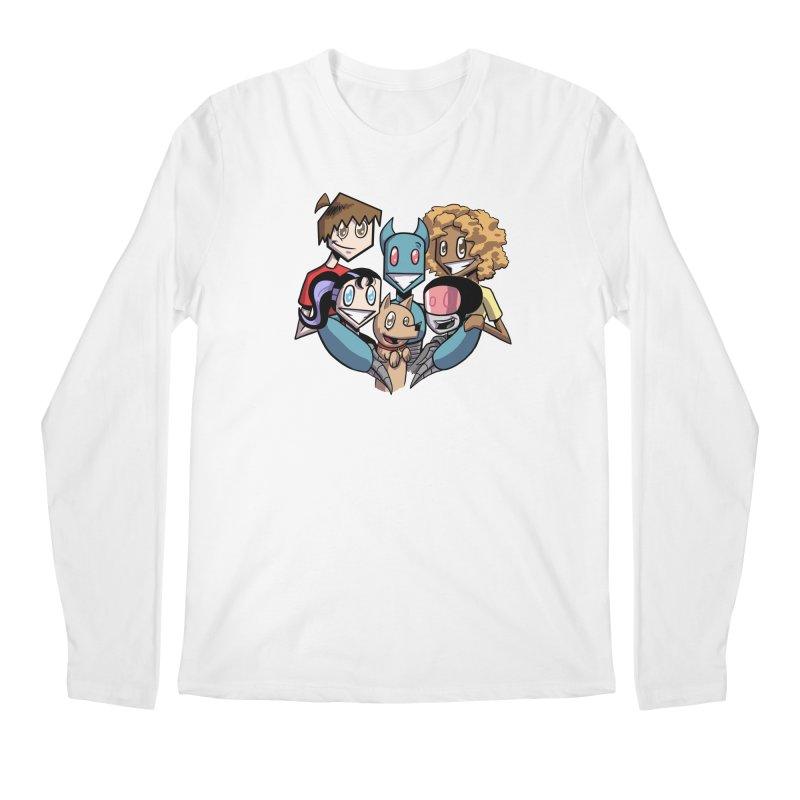 10th Anniversary! Men's Regular Longsleeve T-Shirt by The Transypoo Tee Shirt Shop!