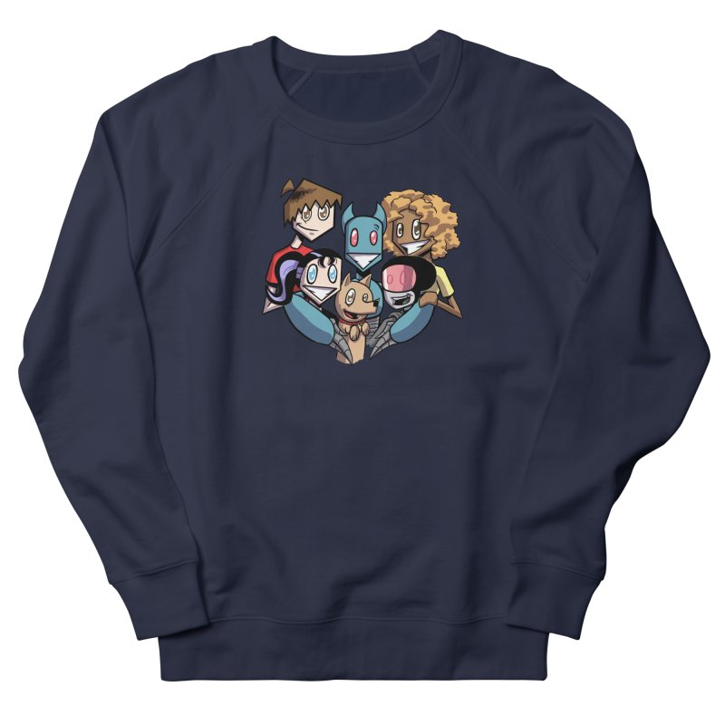 10th Anniversary! Men's French Terry Sweatshirt by The Transypoo Tee Shirt Shop!