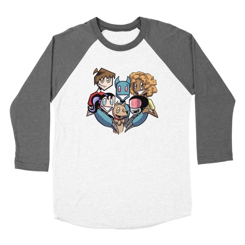 10th Anniversary! Men's Baseball Triblend Longsleeve T-Shirt by The Transypoo Tee Shirt Shop!