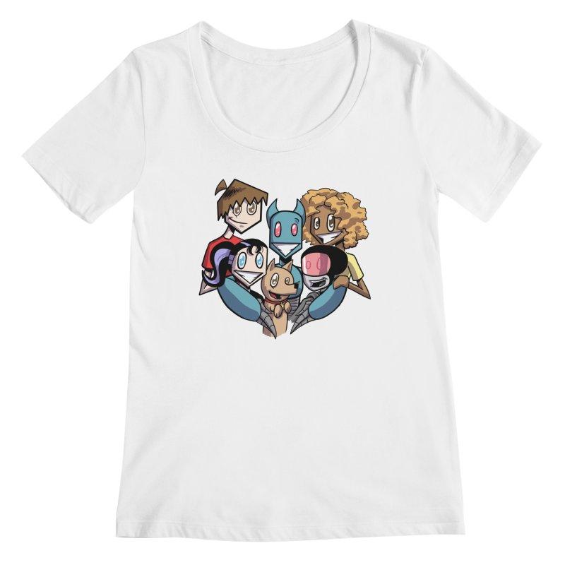 10th Anniversary! Women's Regular Scoop Neck by The Transypoo Tee Shirt Shop!
