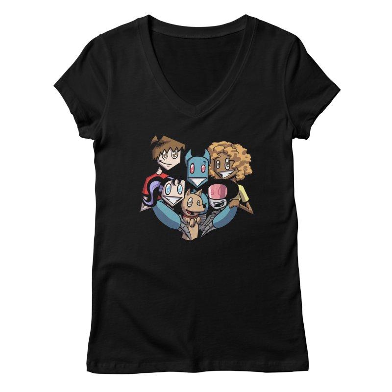 10th Anniversary! Women's V-Neck by The Transypoo Tee Shirt Shop!