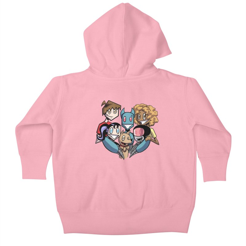 10th Anniversary! Kids Baby Zip-Up Hoody by The Transypoo Tee Shirt Shop!