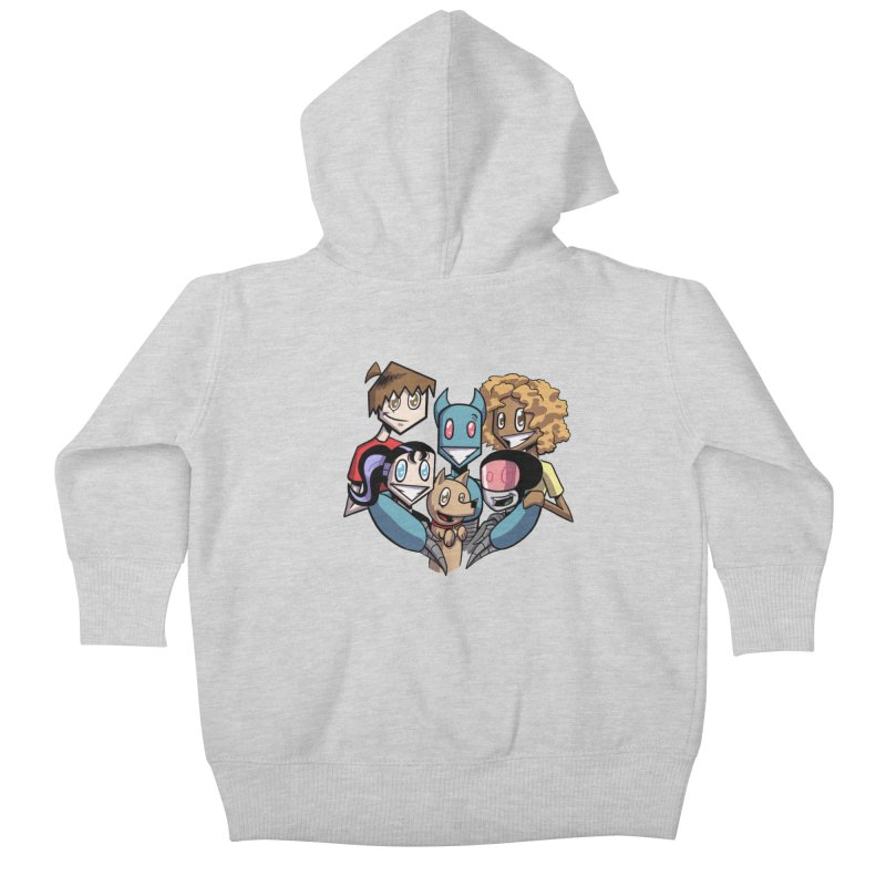 10th Anniversary! Kids Baby Zip-Up Hoody by The Transypoo Tee Shirt Shop!
