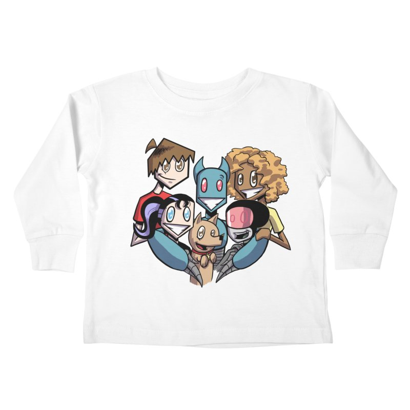 10th Anniversary! Kids Toddler Longsleeve T-Shirt by The Transypoo Tee Shirt Shop!