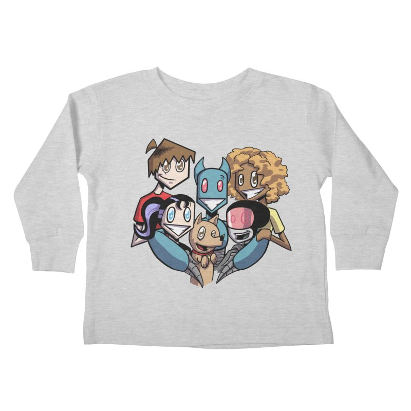 10th Anniversary! Kids Toddler Longsleeve T-Shirt by The Transypoo Tee Shirt Shop!