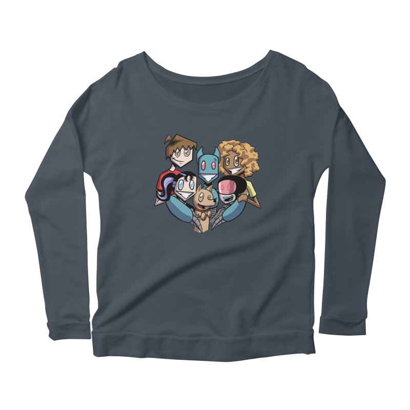 10th Anniversary! Women's Scoop Neck Longsleeve T-Shirt by The Transypoo Tee Shirt Shop!