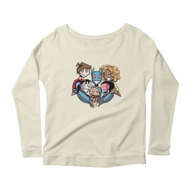 10th Anniversary! Women's Scoop Neck Longsleeve T-Shirt by The Transypoo Tee Shirt Shop!