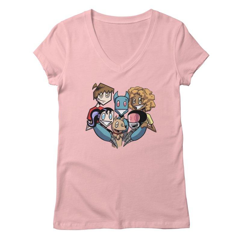 10th Anniversary! Women's Regular V-Neck by The Transypoo Tee Shirt Shop!