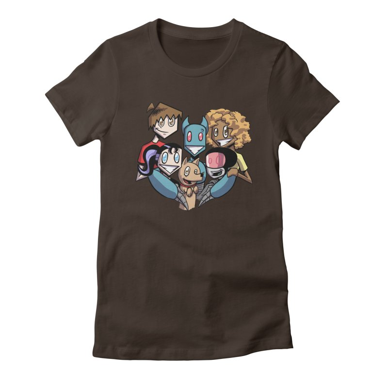 10th Anniversary! Women's Fitted T-Shirt by The Transypoo Tee Shirt Shop!